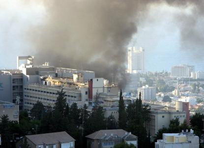 Haifa, Second Lebanon War, 2006