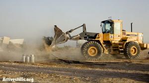 Demolishing al-Arakib